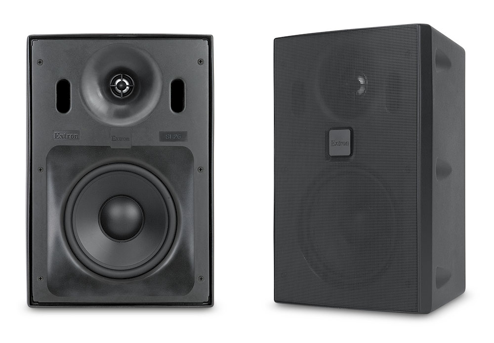 "SI 26 - Surface Mount - 6.5"" Woofer, Black, Pair"