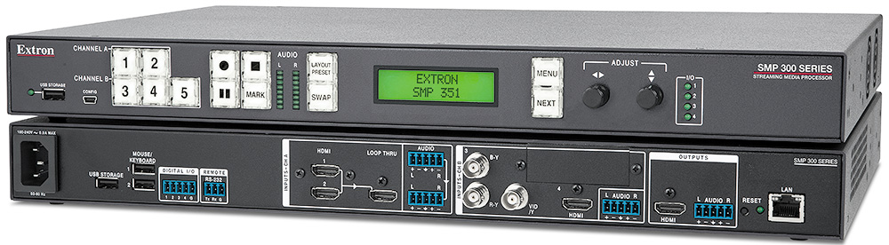 SMP 351 - Streaming AV Products | Extron
