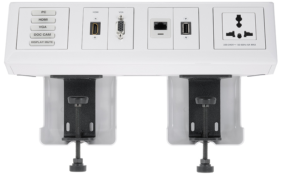 SMB 214 is compatible with up to two kits for improved mounting and cable management
