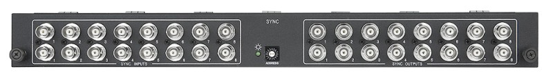 SMX 1616 SYNC - 16x16 Single-channel Sync; 2 Slots