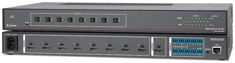 SW HD 4K PLUS Series - Switchers   Extron