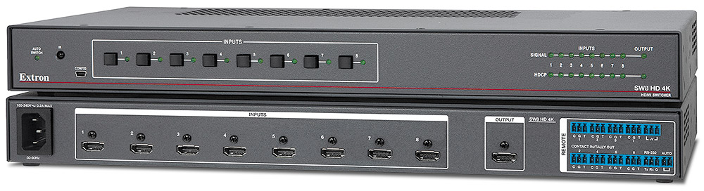 SW8 HD 4K - Eight Input HDMI Switcher
