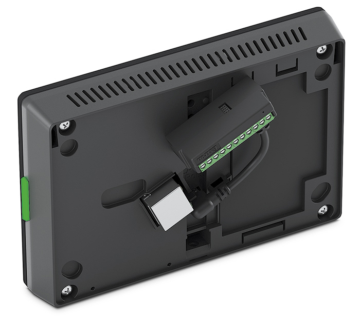 TLC Pro 526M - Back with Port Expansion Adapter