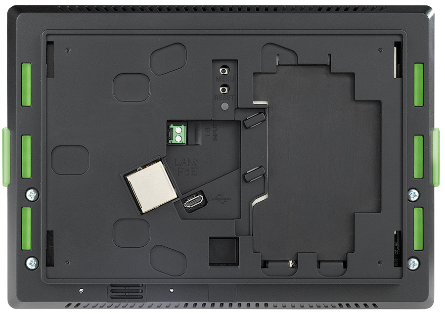 TLC Pro 726M - Back without Port Expansion Adapter