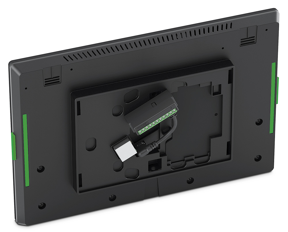 TLC Pro 1026M - Back with Port Expansion Adapter