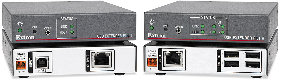 USB Extender Plus T and USB Extender Plus R