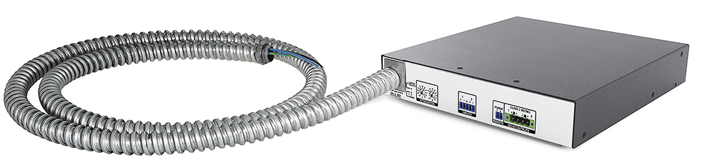 Flexible Conduit Adapter Kit shown attached to an XPA U 1002