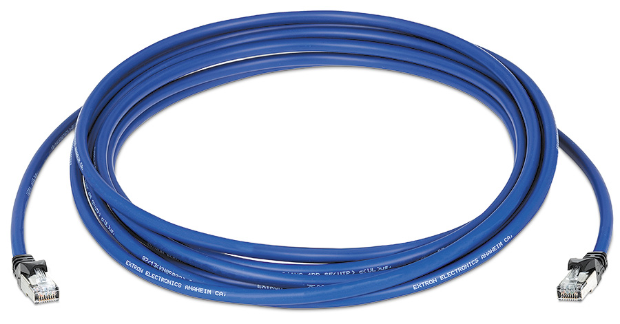 EXTRON  XTP DTP 24P//50 50 ft Plenum cable p//n 26-695-50 Shielded Cat 5 cable