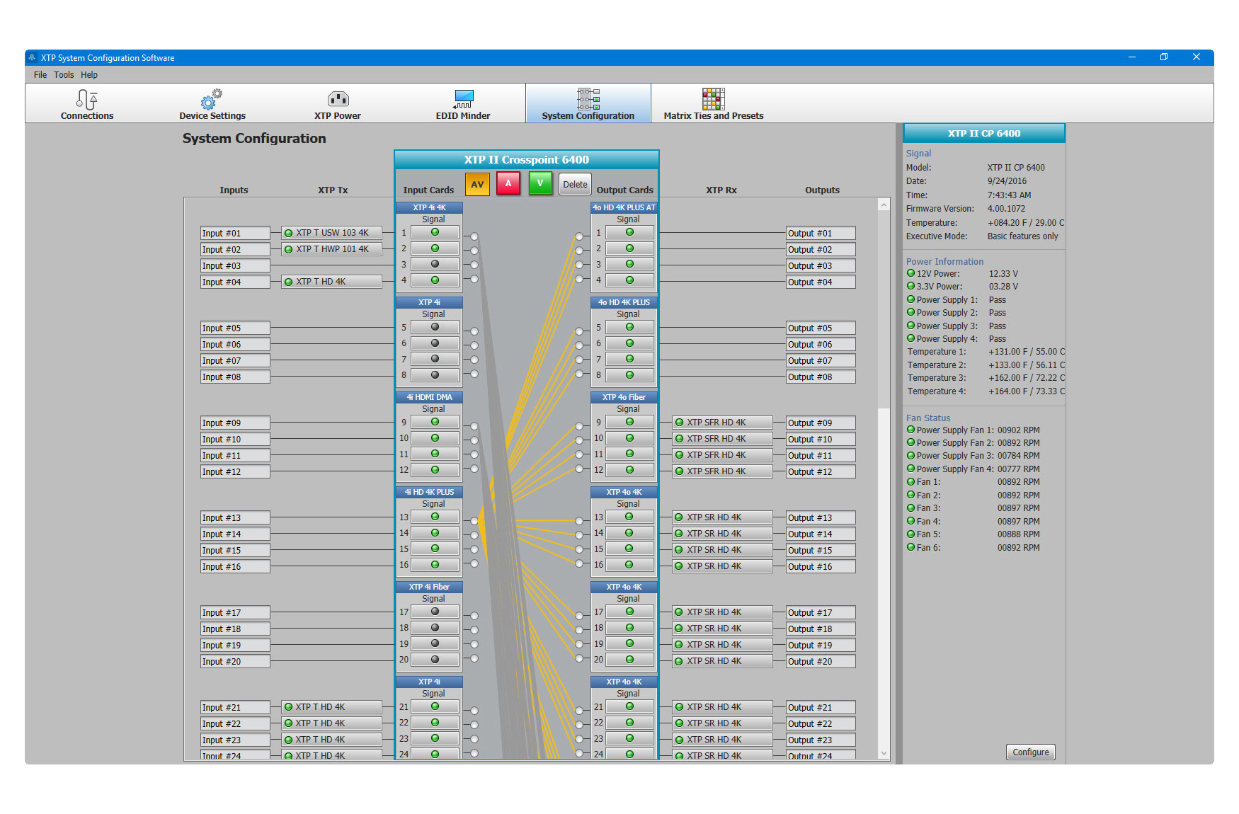 Comprehensive, user-friendly software for configuring, operating, and commissioning XTP Systems