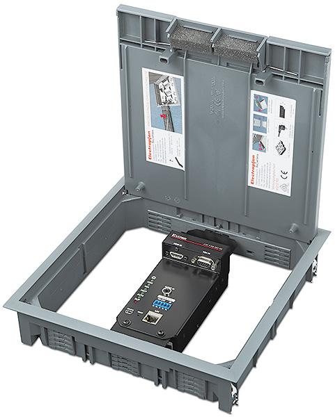 "XTP T FB 202 4K <p class=""small-text"">Shown in ElectraPlan floor box assembly</p>"