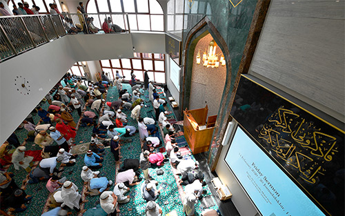 Extron AV Technologies Help to Modernize Singapore's Historic Angullia Mosque