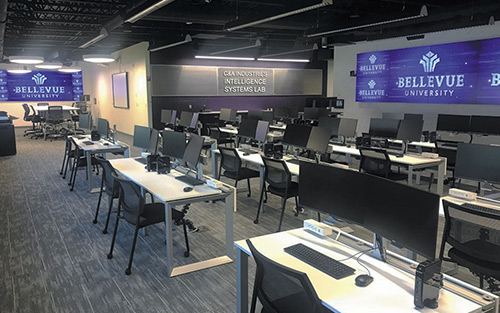 Extron Quantum Ultra Drives Two High-Performance Videowalls at Bellevue University