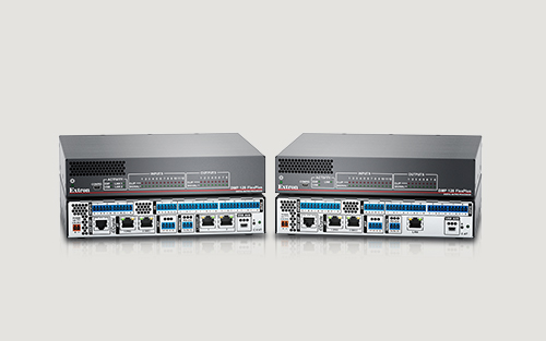 Extron Ships the DMP 128 FlexPlus Flexible DSP for Dante Systems