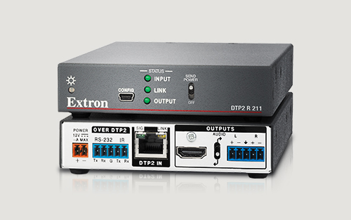 Extron Now Shipping Next Generation, HDCP 2.2 Compliant 4K/60 4:4:4 DTP2 Receiver