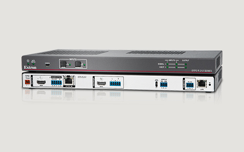 Extron 4K/60 HDMI DTP2 Receiver and Switcher with Audio De-Embedding Now Shipping
