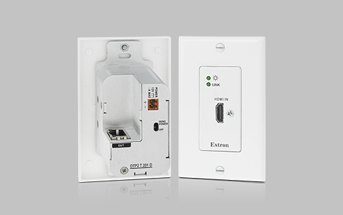 Extron Announces New 4K/60 4:4:4 HDMI DTP2 Wallplate Transmitter