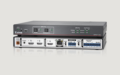 Extron Now Shipping Next Generation 4K/60 HDMI Switcher with Integrated DTP2 Transmitter and Local Output