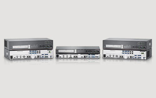 Extron DTP2 CrossPoint 82 Delivers 4K/60 4:4:4 Matrix Switching, Scaling, and Extension plus Audio and Control Processing in One Box
