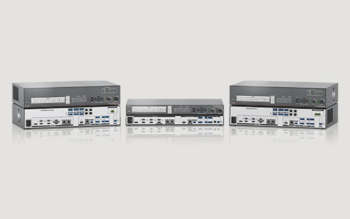 Extron DTP2 CrossPoint 82 Delivers 4K/60 4:4:4 Matrix Switching, Scaling, and Extension — Plus Audio and Control Processing — in One Box
