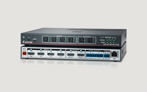 Extron Ships New Compact, High Performance 4K/60 4:4:4 HDMI Matrix