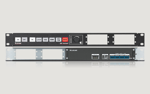 Extron Now Shipping eBUS Button Panel That Puts Powerful AV Control in the Rack