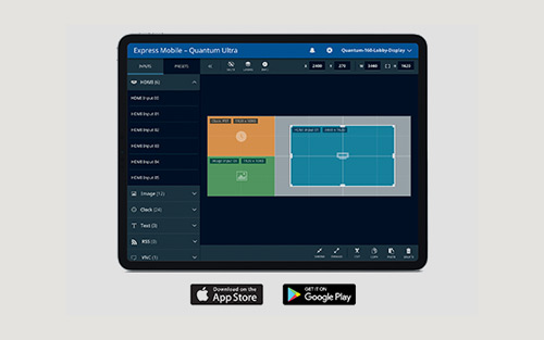 Extron Quantum Ultra Mobile App for Simple, Intuitive Control of Videowalls is Now Available