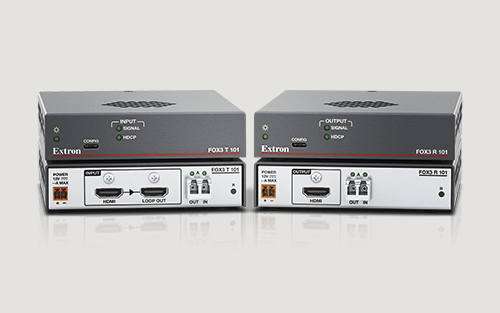 Extron Introduces New FOX3 Transmitter and Receiver