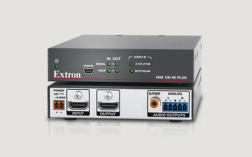 Extron High Performance 4K/60 HDMI Audio De-Embedder for Pro AV is Now Shipping