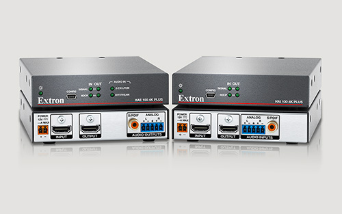 Extron Introduces High Performance 4K/60 HDMI Audio De-Embedding and Embedding for Pro AV