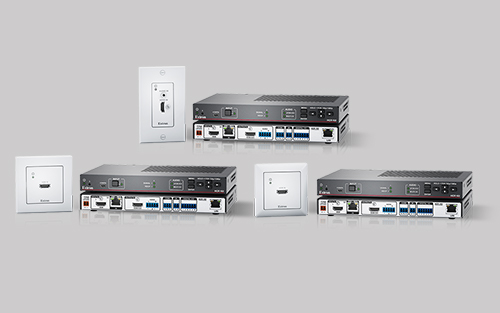 Extron Now Shipping Economical Collaboration Systems with One-Gang Wallplate Transmitters