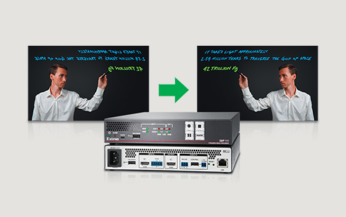 Horizontal Video Mirroring LinkLicense for the Extron SMP 111 Now Available