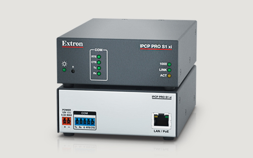New Extron Control Processor Packs Powerful Features into a Compact Design