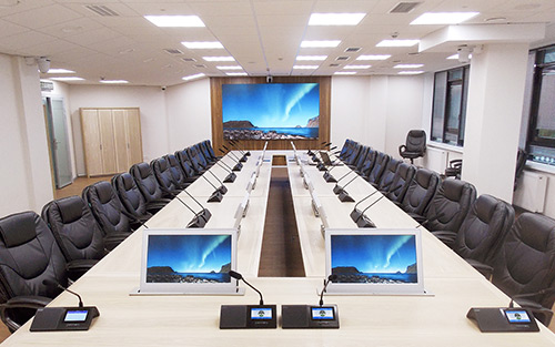 Extron DTP, Architectural, and Control Systems Empower Collaboration with Sophistication at Irkutsk Oil HQ