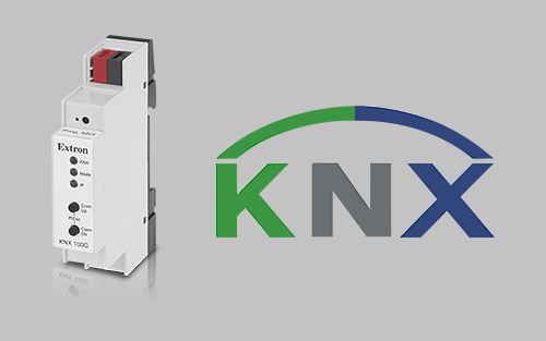 New Ethernet to KNX Interface Extends Building Management Controls to Extron Control Systems