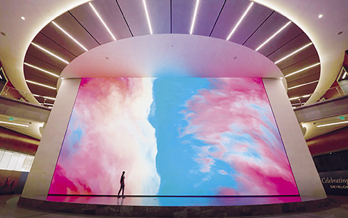 Extron Quantum Ultra Drives Immersive Artwork Videowall at Charlotte's Legacy Union Tower