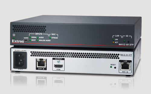 Extron Announces New NAV Encoder with DTP Input Is Now Available