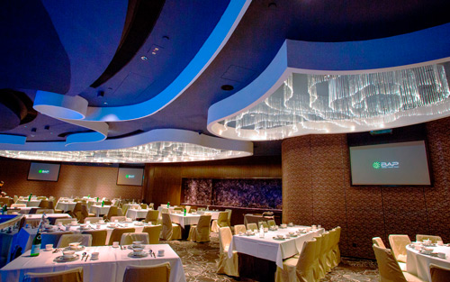 Extron AV Switching, Distribution, and Control Serve Up Multimedia at Neptune's Restaurant Hong Kong