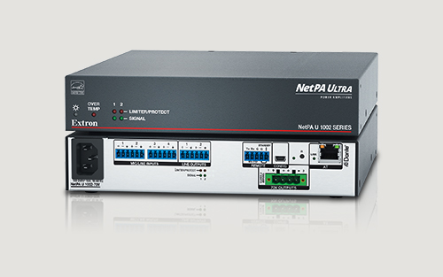 NetPA Ultra Stereo Dante Amplifier with DSP Now Shipping