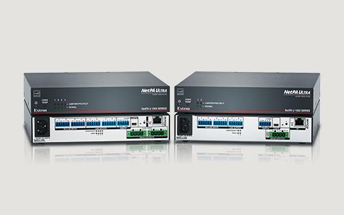 Industry-Leading Amplifiers Now with Dante