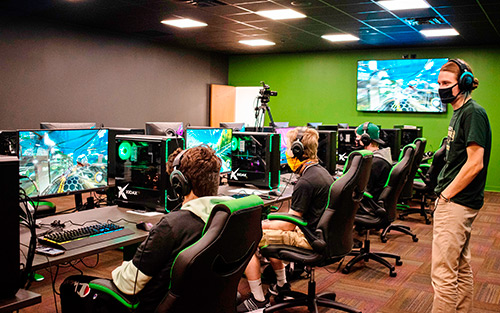Extron XTP, Streaming, and Control Systems  Empower Point Park University's Varsity Esports Program