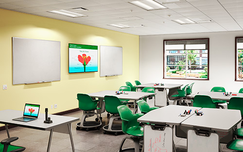 Extron PlenumVault Direct View System - The Perfect Partner for Classroom Flat Panel Displays