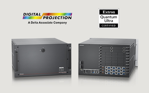 Extron Announces Digital  Projection's Radiance LED Achieves Quantum Ultra Videowall Systems Certification