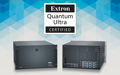 Extron Announces Daktronics Achieves Quantum Ultra Videowall System Certification