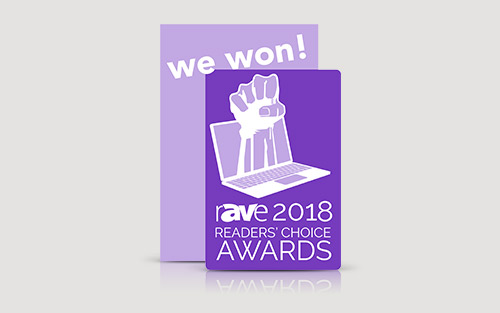 Extron erhält drei rAVe 2018 Readers' Choice Awards