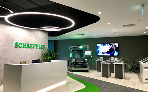 Extron DTP, Collaboration, Wireless & Pro Series Control Systems Enhance Engagement at Schaeffler Asia Pacific