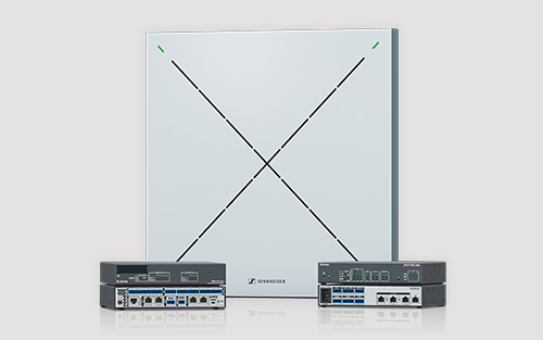 Extron and Sennheiser Enhance Audio and AV Control in Modern Workspaces