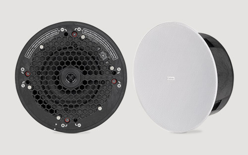 Extron Introduces Two-Way Ceiling Speaker with Low Profile Back Can