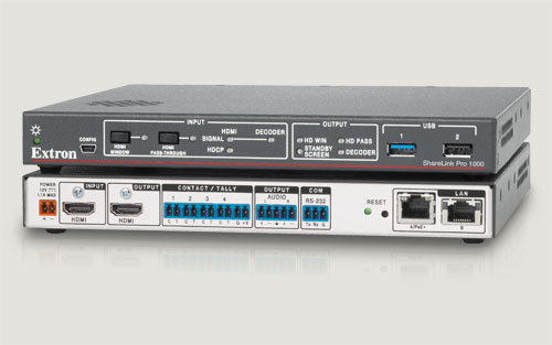 Extron's Most Intelligent Wireless and Wired Collaboration Gateway Yet