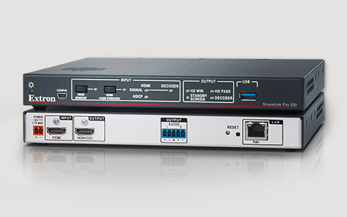 New Extron ShareLink Pro 500 Provides Powerful and Cost-Effective Wireless Collaboration