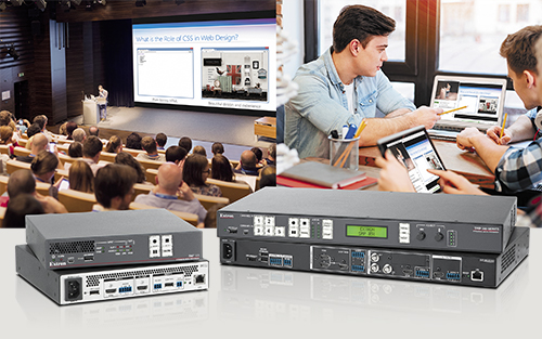 Extron SMP Systems Enable Online Learning